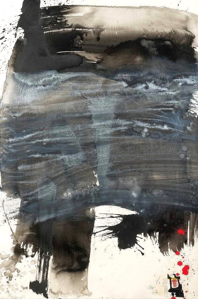 Untitled and dated 1987