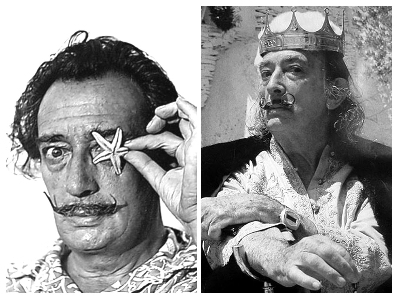 Salvador DALI (1904 – 1989) -Surrealistic king – Photo collage