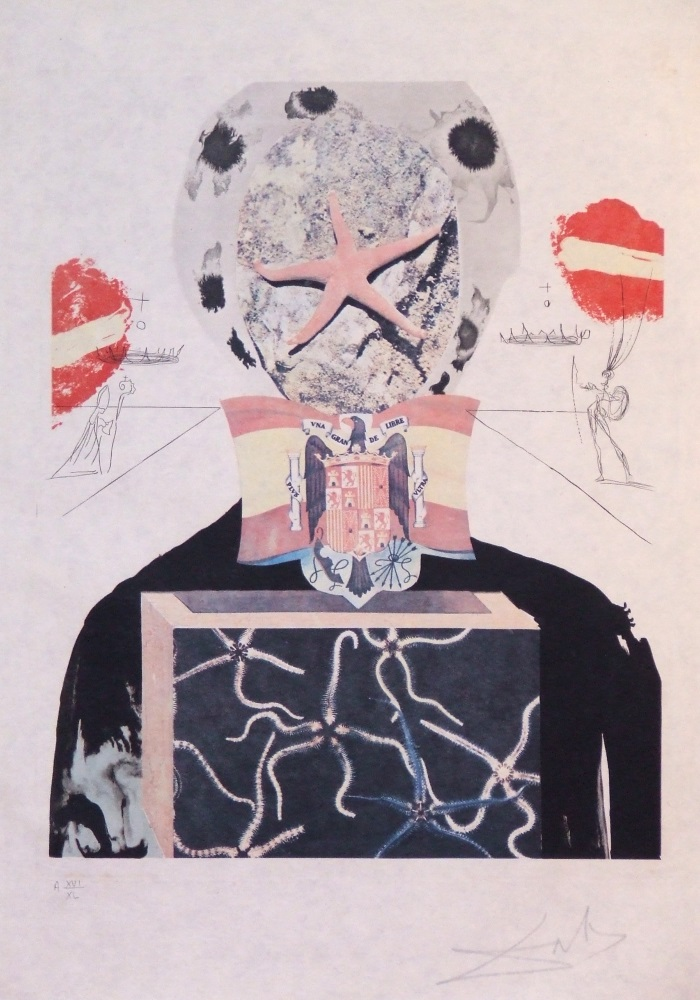 Salvador Dali (1904 – 1989) Etching and lithography – Surrealistic king