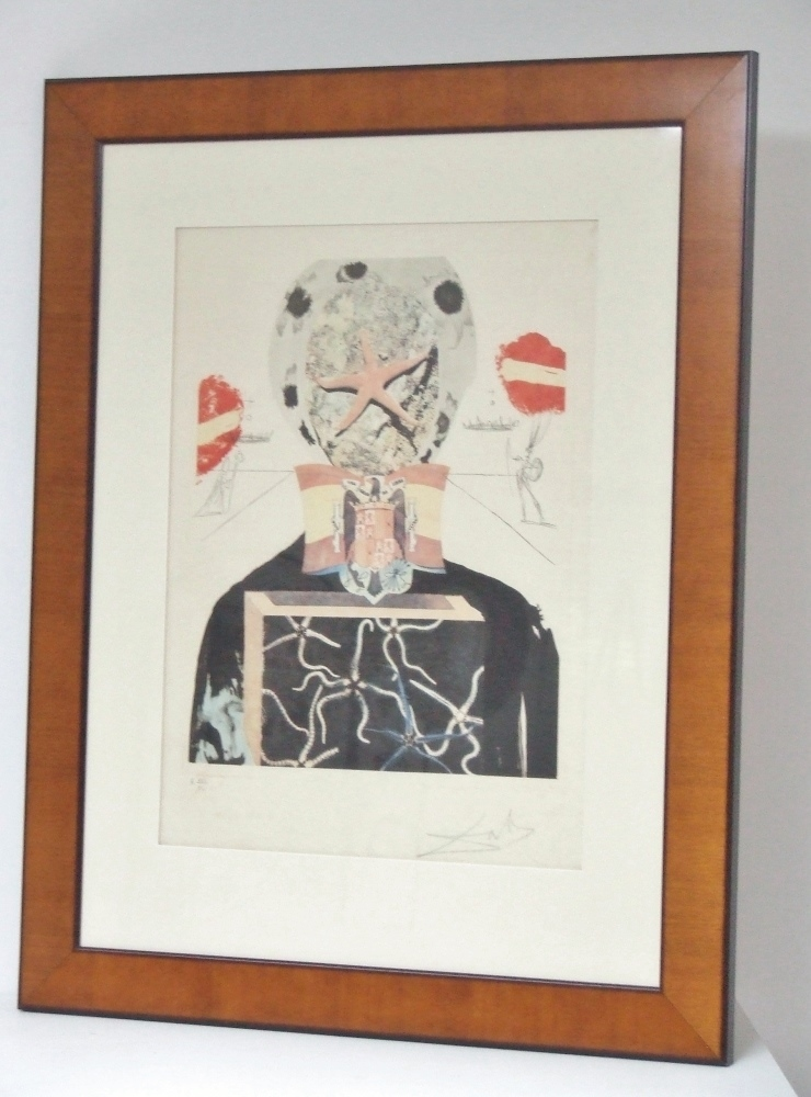 Surrealistic King, 1971 (From the Memories of Surrealism portfolio) With frame