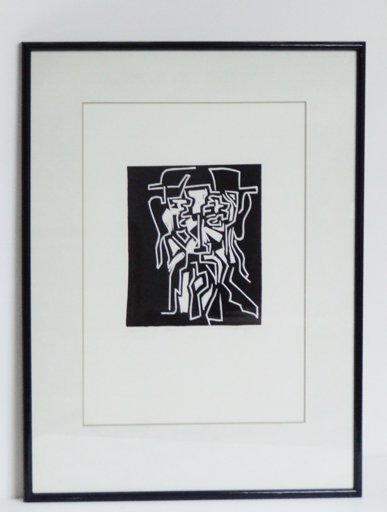 De Wijze circa 1965 (The wise) with frame