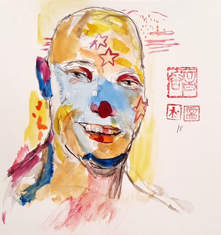 Clown in life dated 2018