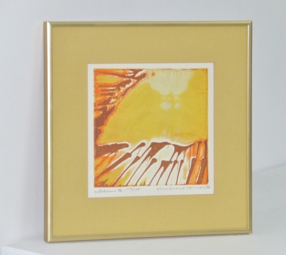 Pitchoune III, dated 1976. with frame