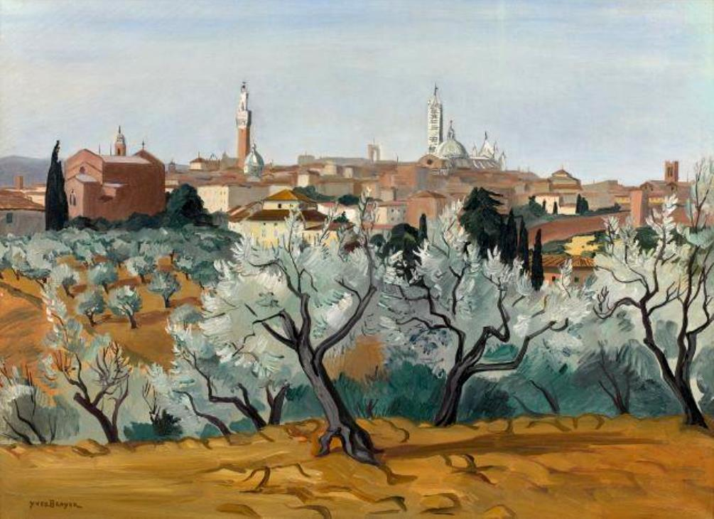View of Siena, 1956
