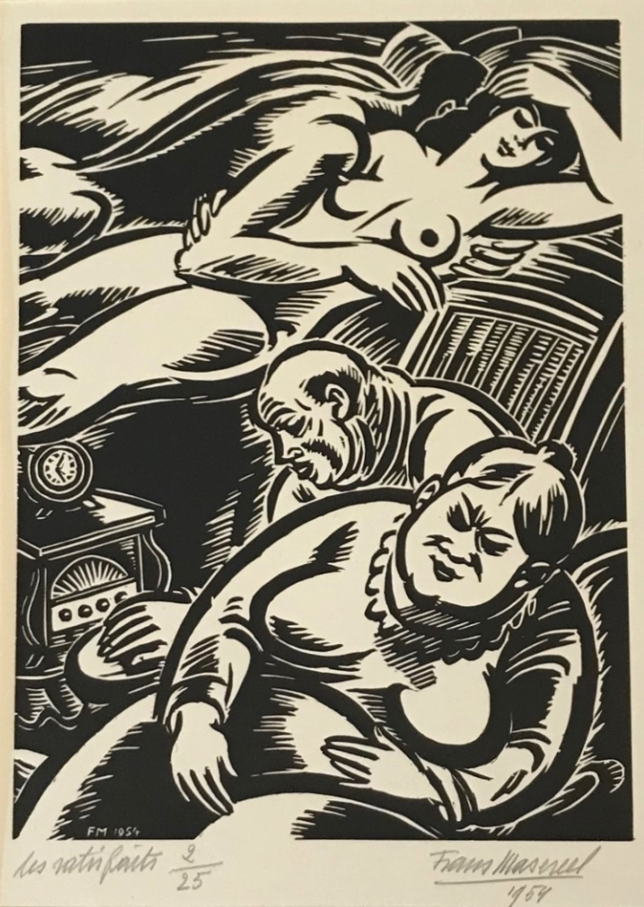 Les satisfaits, 1954 (The satisfied)