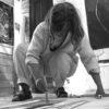 Kittie Bruneau - photo - Black and white