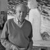 Andre Brasilier painter in 2012
