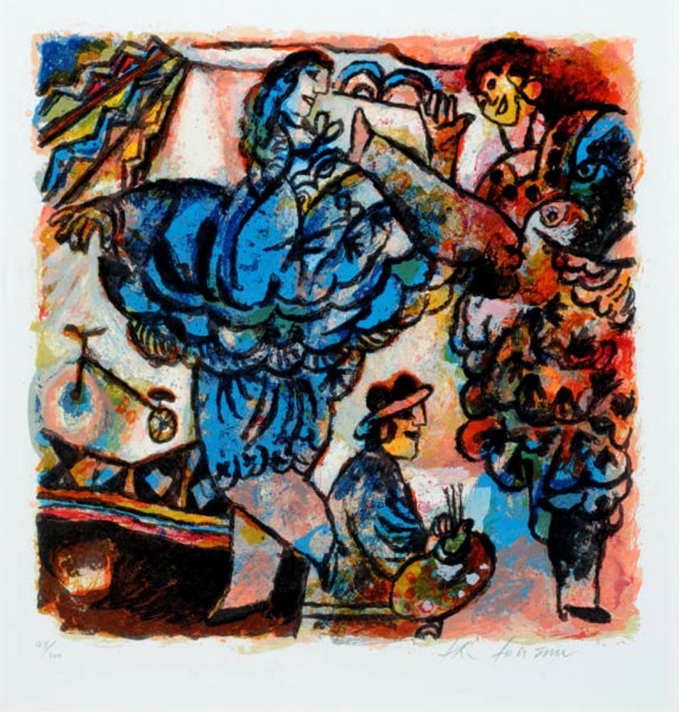 Rêve d'artiste circa 1989-1990. (Artist dream)