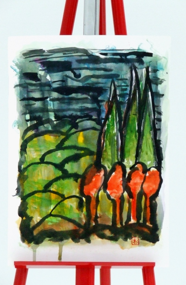 Between dawn and autumn dated 2014