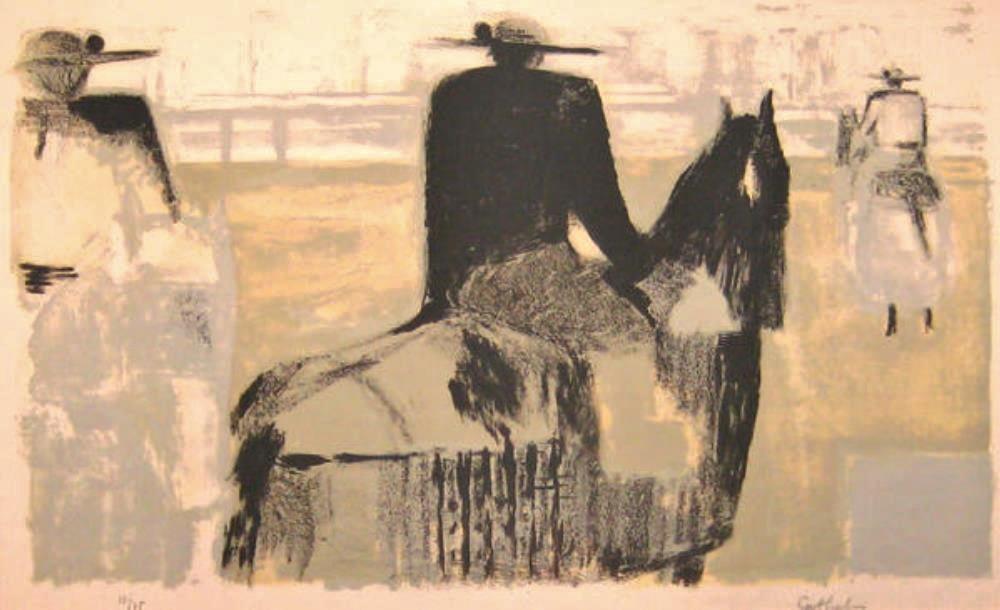 The picador, 1957 (Le picador)