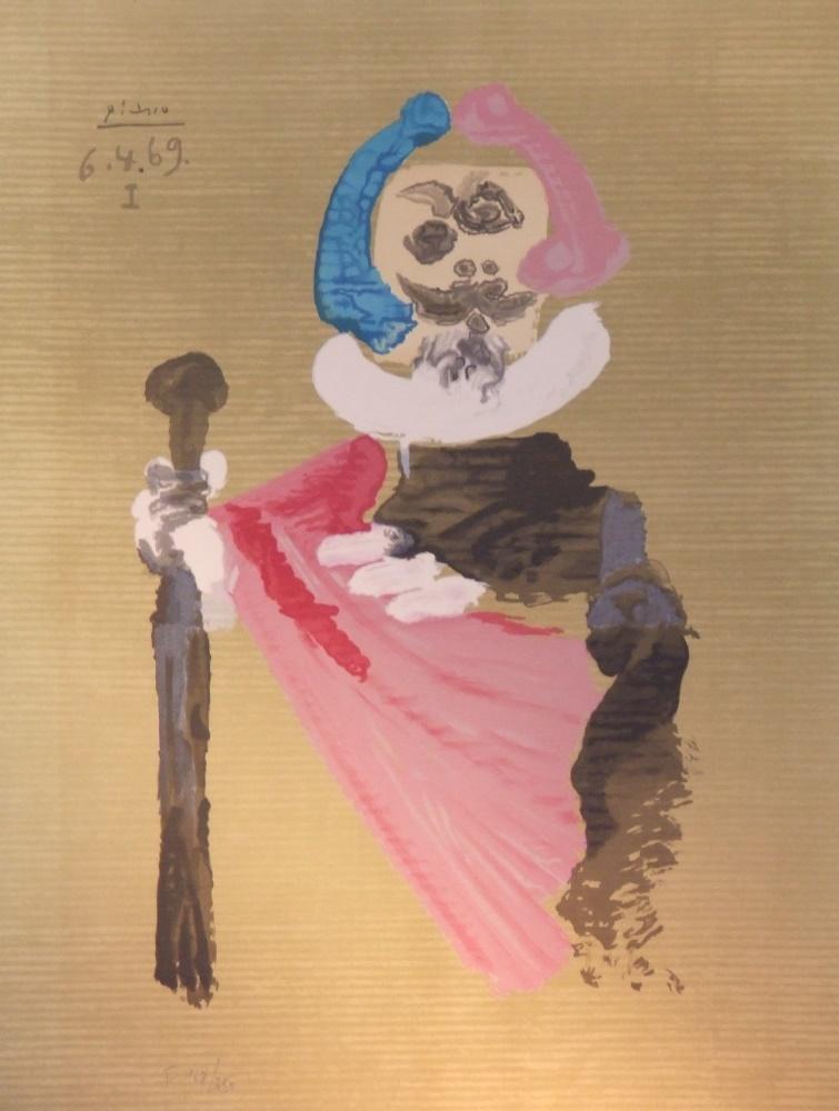Pablo PICASSO(1881-1973) Lithography sur papier chiffon cartoné