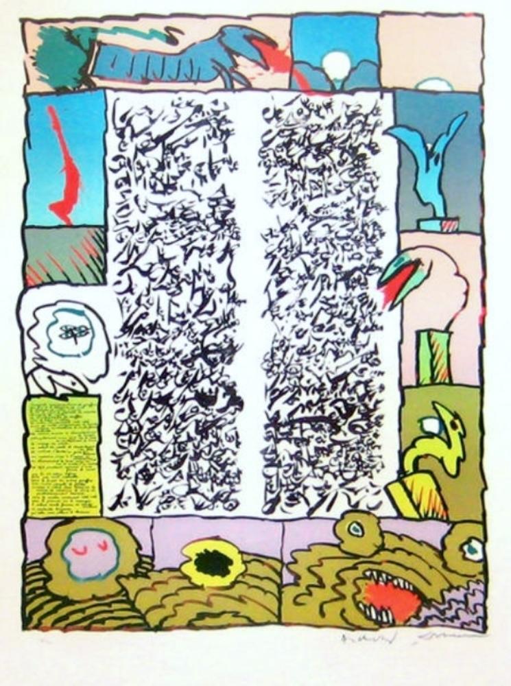 Brassée sismographique, 1972
