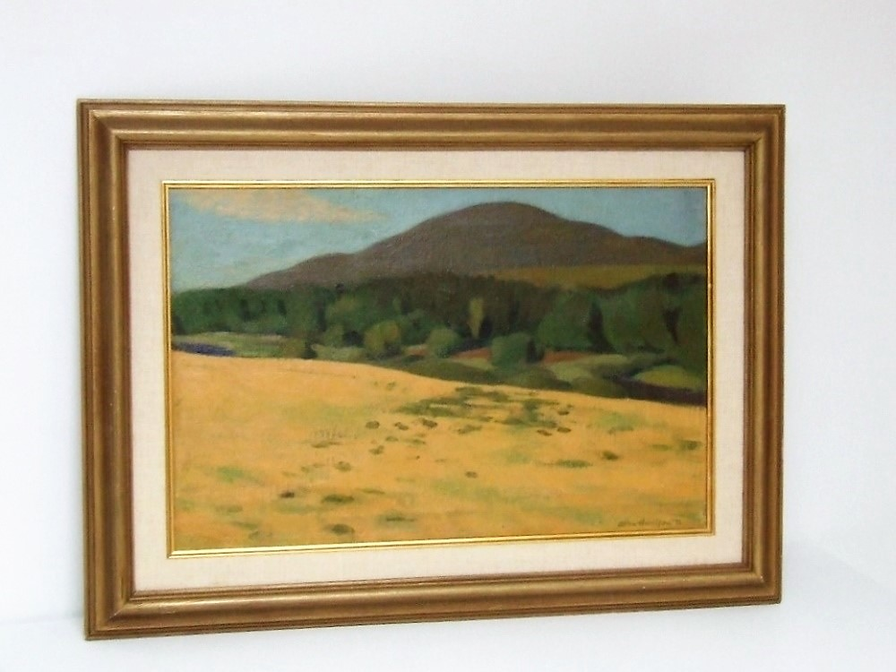 Allan HARRISON (1911-1988) Oil on canvas – Abercorn