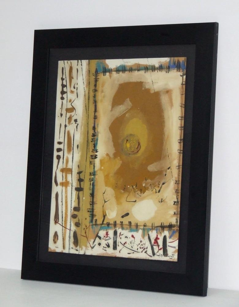 Peau tendue datée 1964 – Cadre