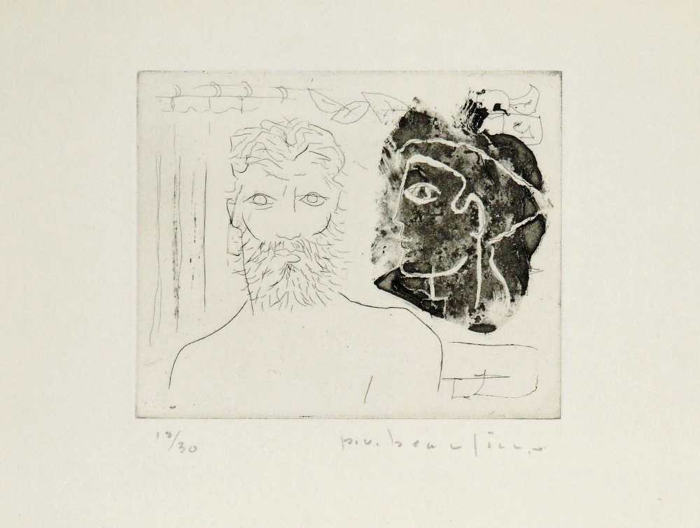 Faces, circa 1950 (Greek profile)