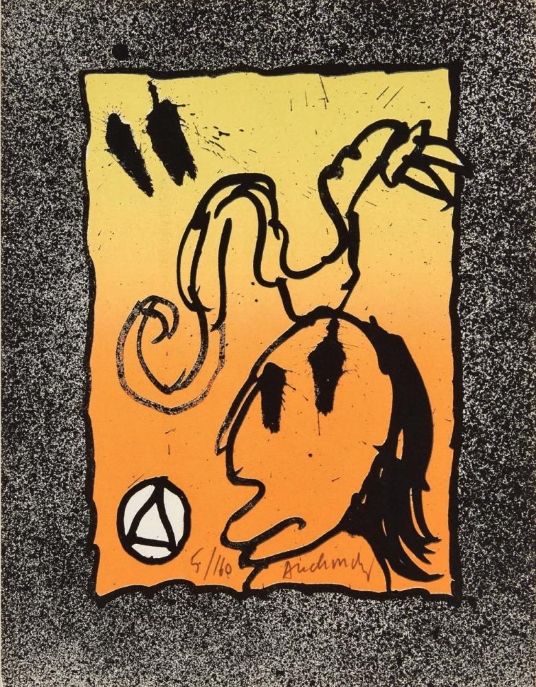 ALECHINSKY, Pierre (Belgian 1927). Les Infeuilletables, 1969 – Edition