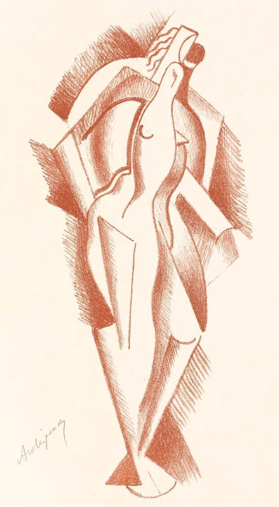 Frau, 1922 (Woman)