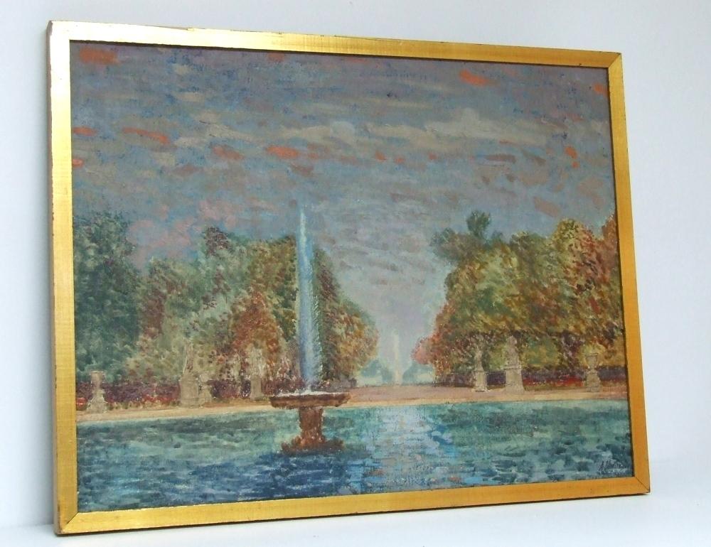 Paris, Jardin des Tuileries dated 1964