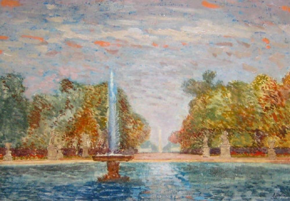 Paris – Jardin des Tuileries, 1964