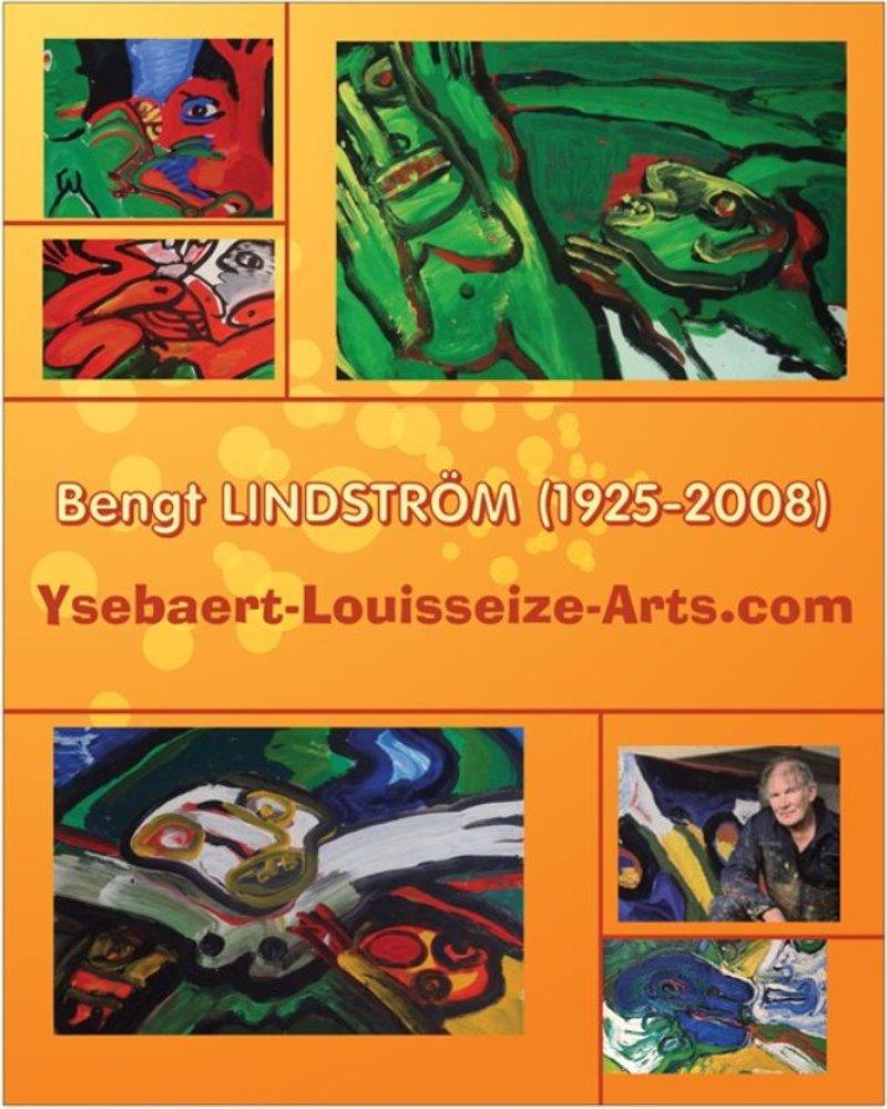 Bengt LINDSTROM (1925 – 2008) – Affiche – Poster – Glazed paper. Size 40.64 x 50.8 cm – 16 x 20 in