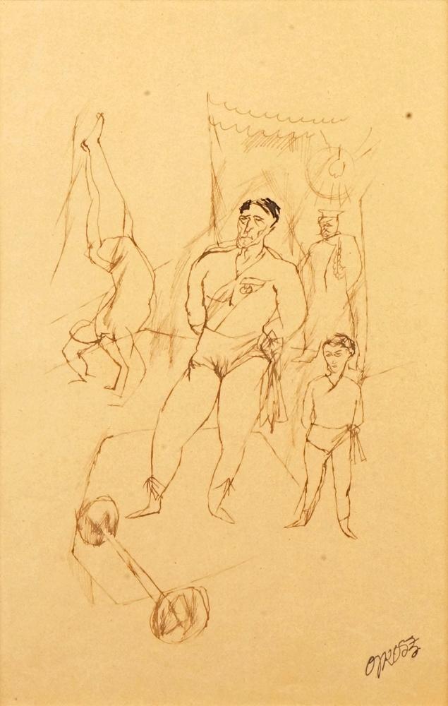 Der Zirkus circa 1920  (The circus)