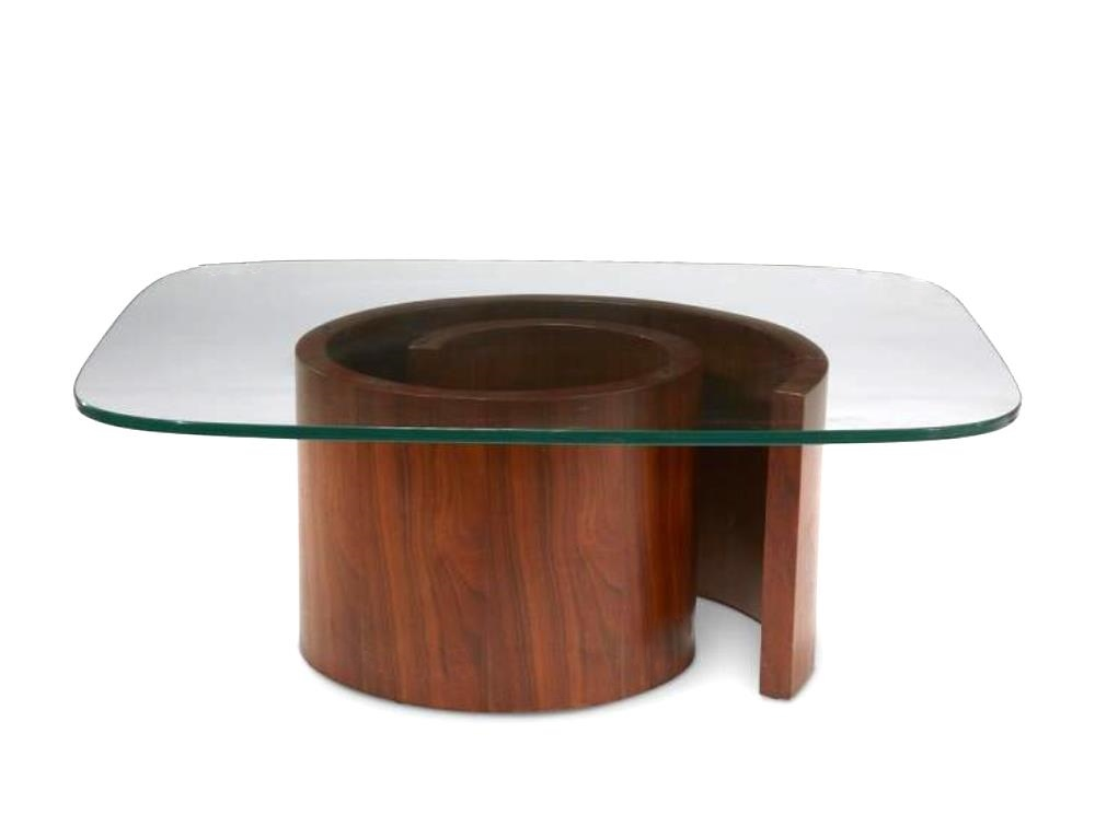 Coffee table ''snail'' created in the 1970's