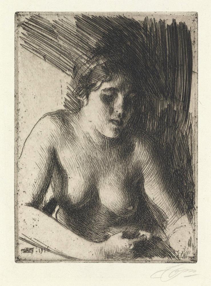 Bust, 1916