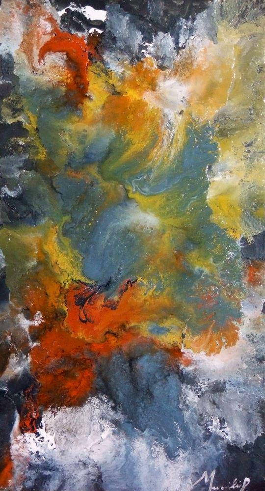 : Ciel en fusion, 1995 (Sky in fusion)