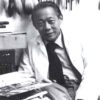 ZAO Wou-Ki (1921-2013) in his studio