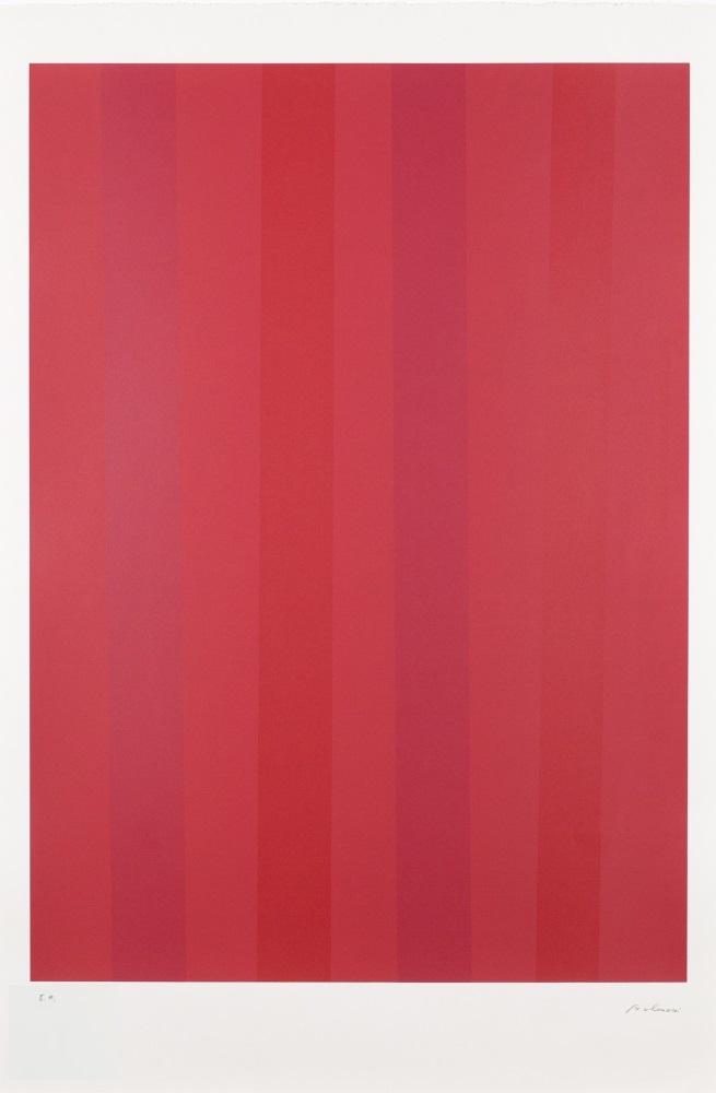 Quantificateur rouge, 1992 (Red quantifier)
