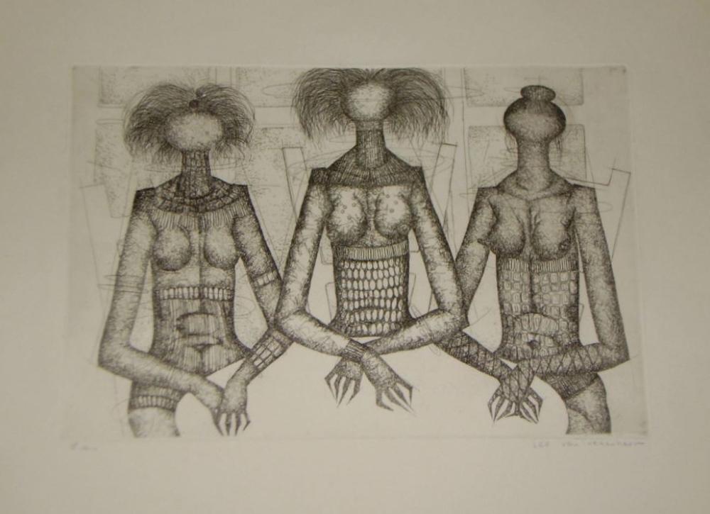 De drie gratiën circa 1975 (The Three Graces)