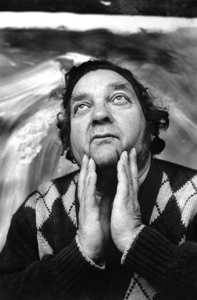 portrait of Jean Messagier