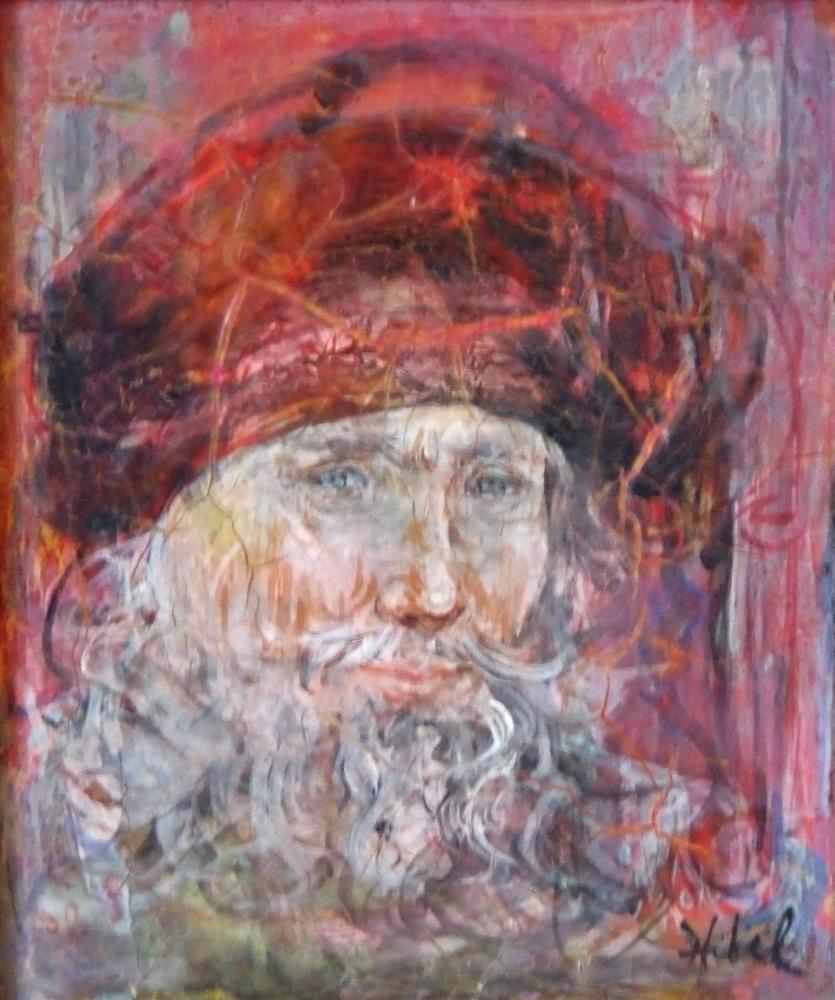 Bearded man dated 1969 (From Venetian period – Venetian merchant)