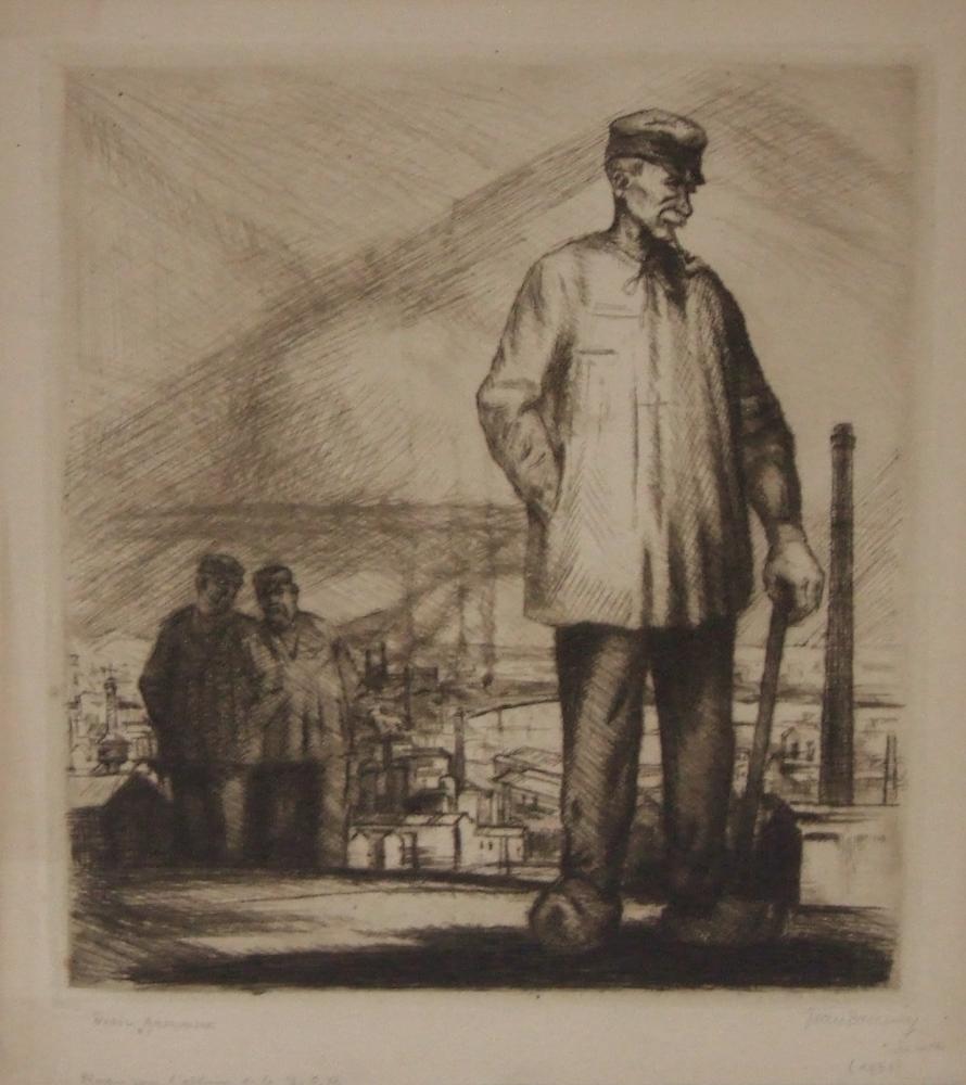 Vieil armurier dated 1931 (Old gunsmith)