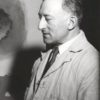 Photo Adolph Gottlieb in his studio 1965