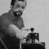Robert Savoie dans son atelier
