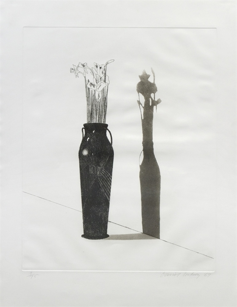 : Vase and Flowers dated 1969