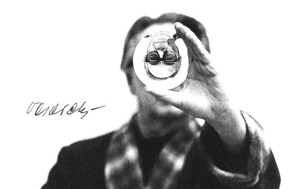 Portrait à la lentille (Lens portrait)