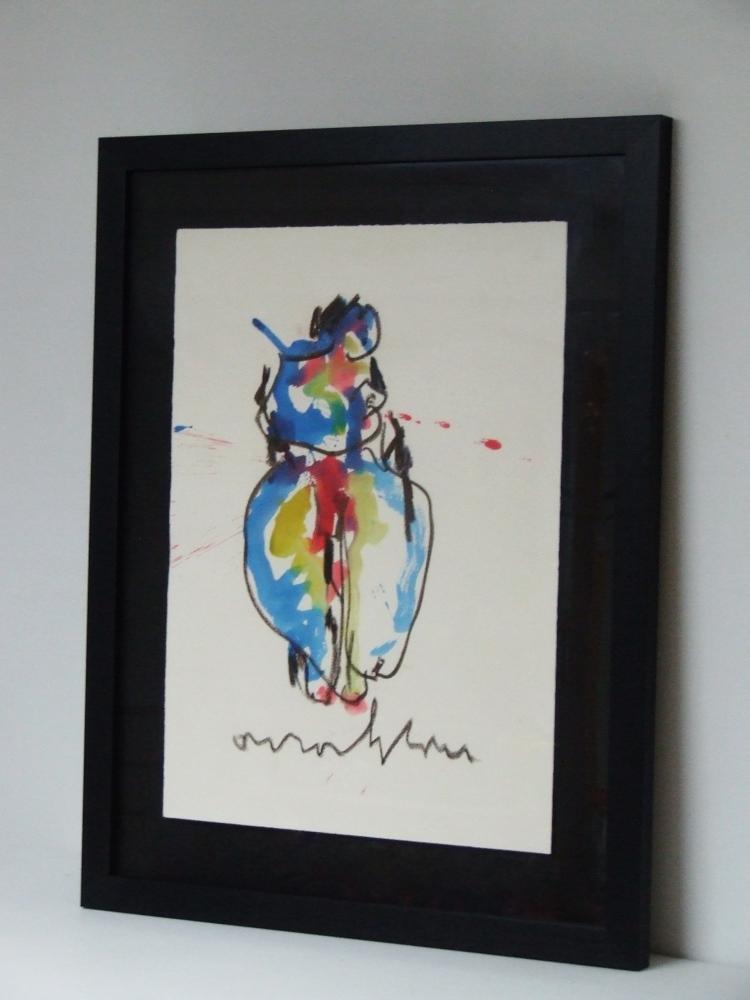 Moederschap circa 1985 (Motherhood) – With frame
