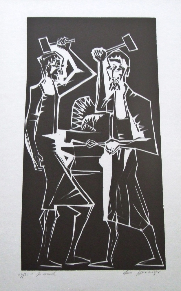 De Smid circa 1965 (The blacksmith)