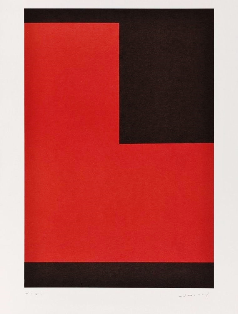 Polychrome terre et angle noir, 1994 (Polychrome earth and black angle)