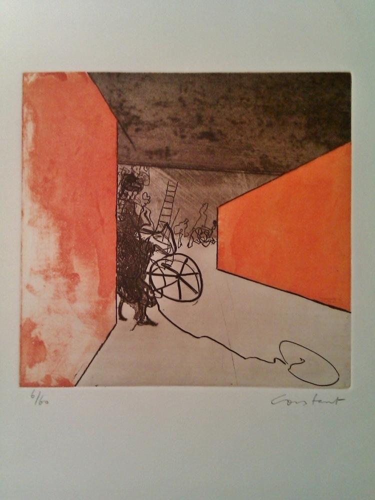 Oranje labyrint, 1972 (Orange Labyrinth)