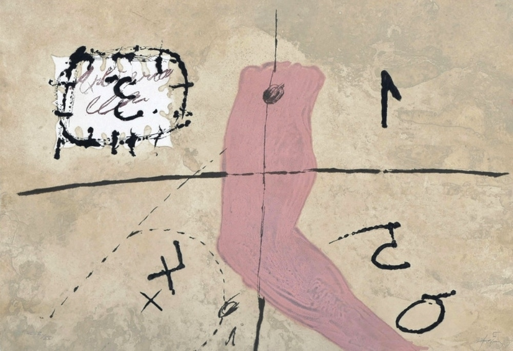 Signes et bras, 1979 (Signs and arm)