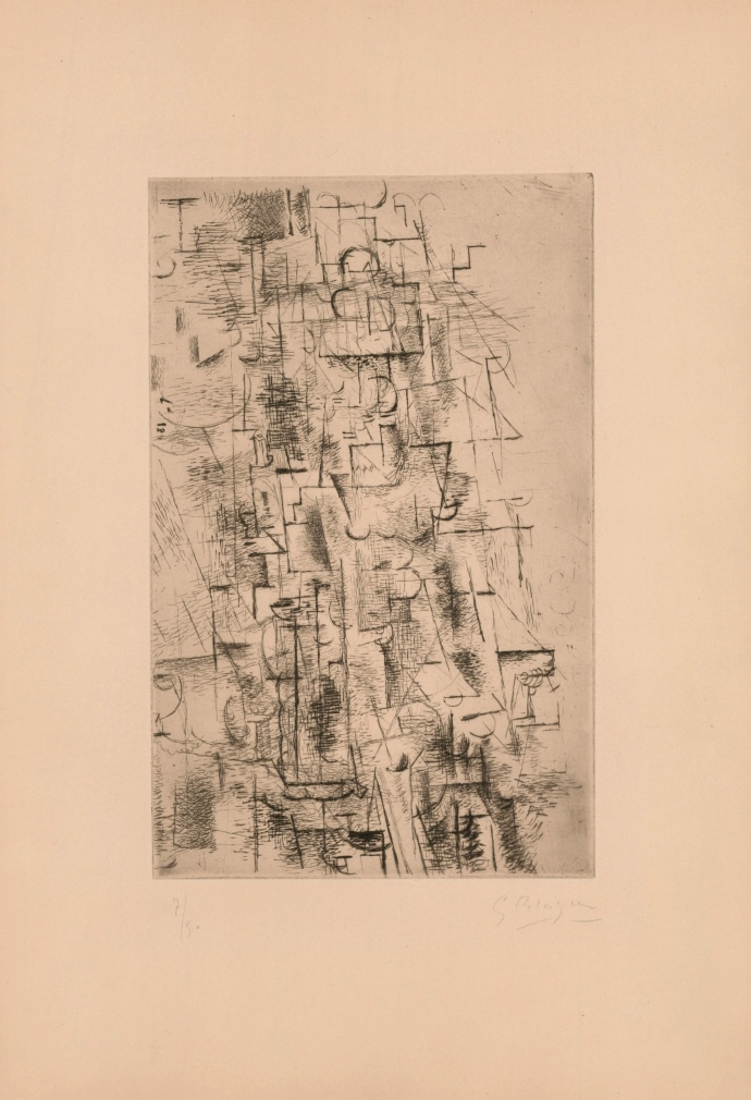 Composition d'une Nature morte I, 1950 (Composition of a Still Life I)
