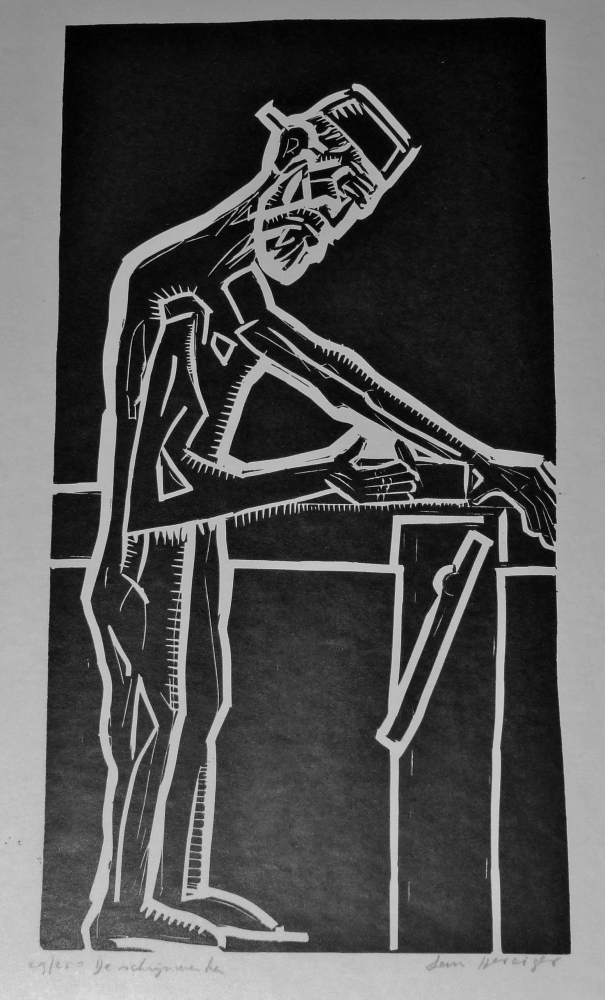De schrijnwerker circa 1965 (The carpenter)