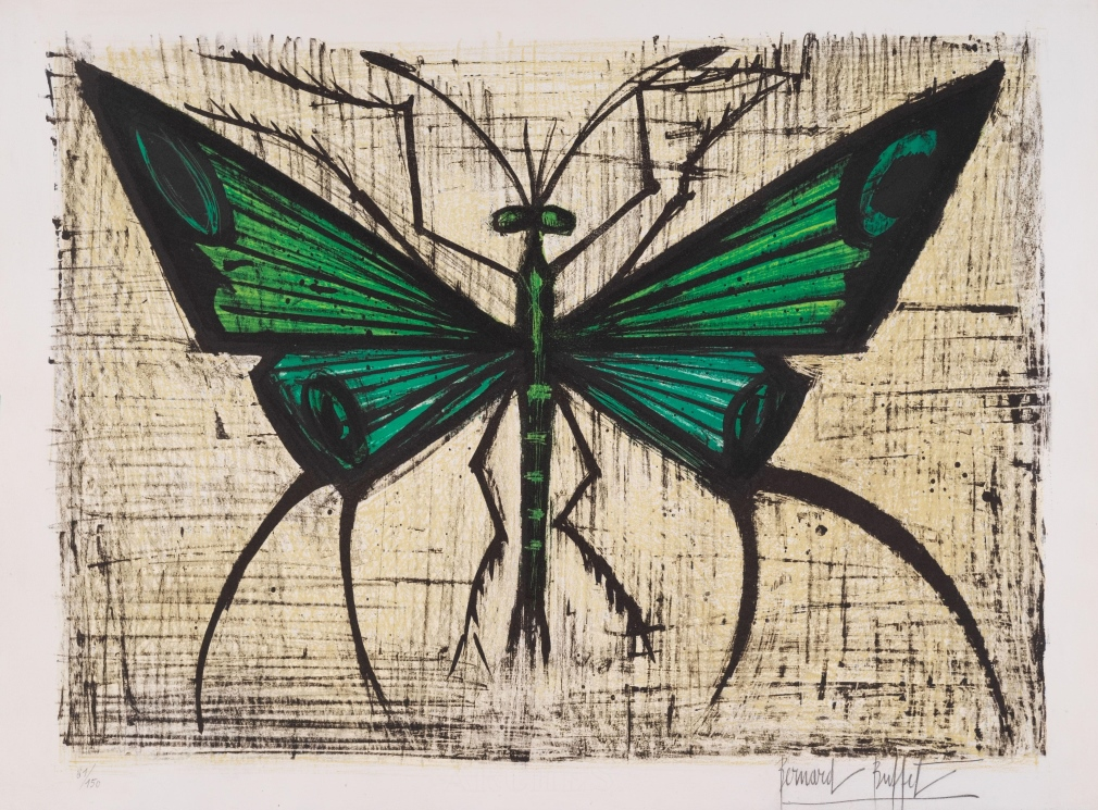 Le papillon vert, 1964 (The green butterfly)