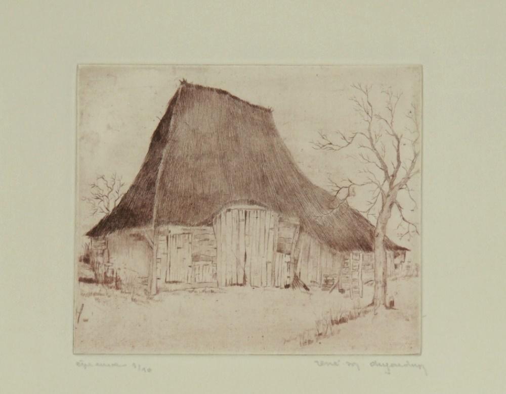 Old Campine barn circa 1935-1939