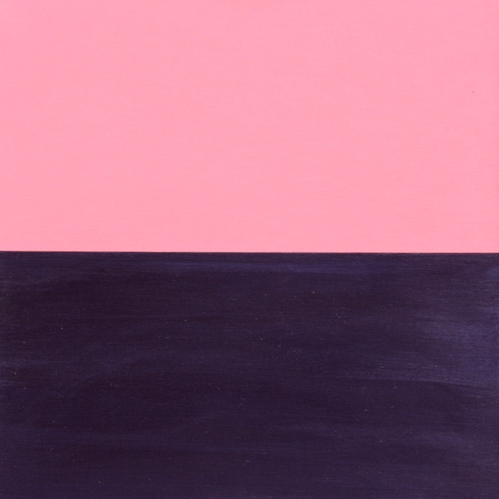 Pinkish composition dated 1987
