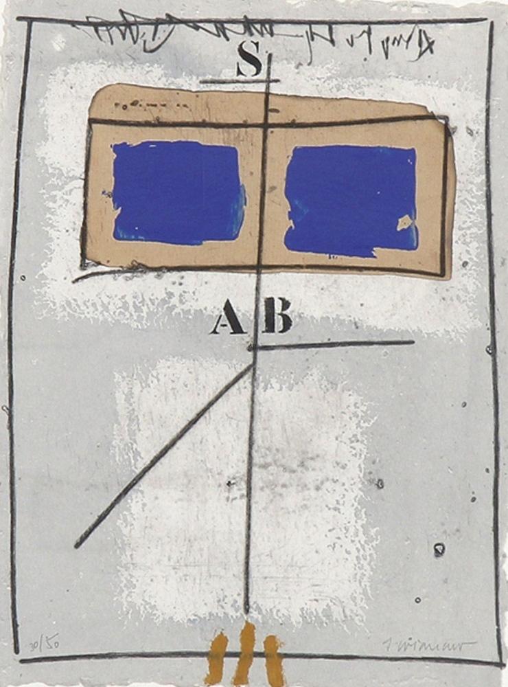 Deux Bleus circa 1990 (Two blues)