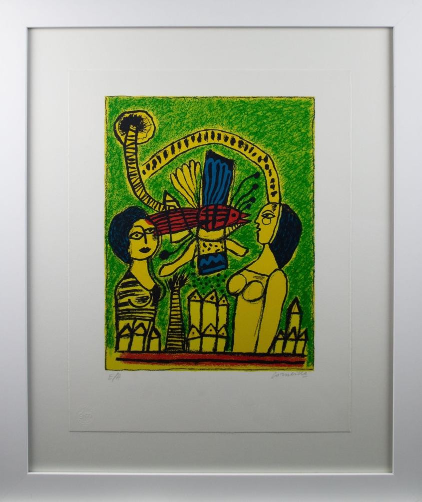 Deux femmes dans la cité, 1997 (Two women in the city) – With frame